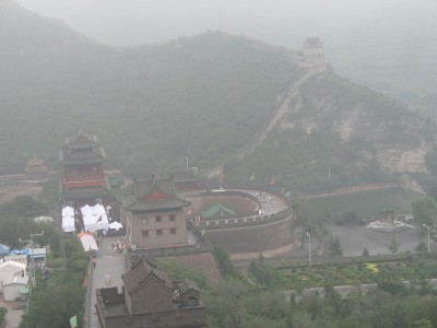 Great Wall Dinner Site, JuYongguan, 2008