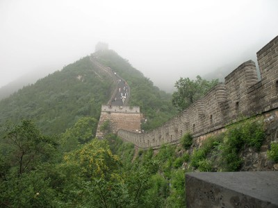 Great Wall Going Up, JuYongguan, 2008