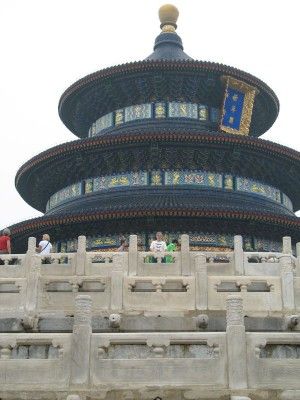 Michael Good at Temple of Heaven, Beijing, 2008