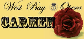 West Bay Opera Carmen poster