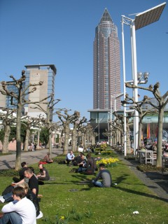 Frankfurt Messeturm photo