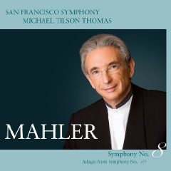 San Francisco Symphony Mahler 8th album cover