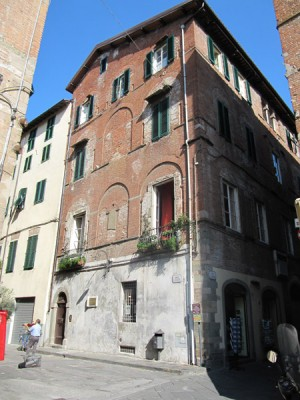 Puccini House in Lucca