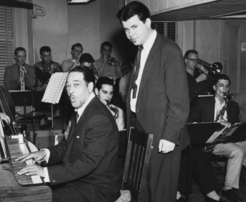 Duke Ellington and Herb Pomeroy
