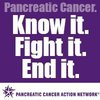 Pancreatic Cancer. Know it. Fight it. End it.
