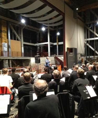 Michael Tilson Thomas rehearsing the San Francisco Symphony Chorus