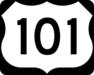 101 sign