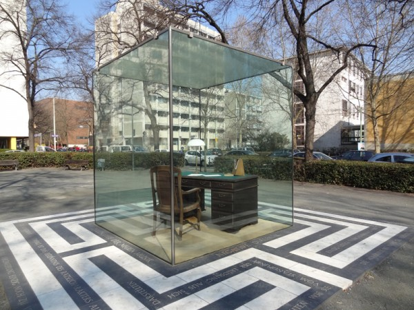 Photo of Adorno Monument, Frankfurt