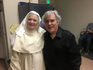 Backstage at Suor Angelica