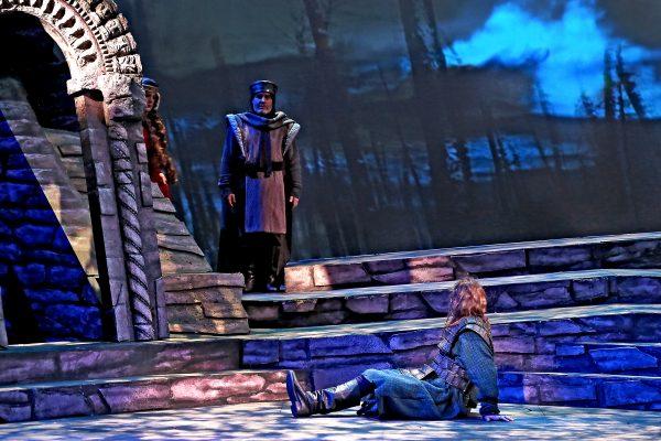 Herald's apperance in Macbeth Act III.