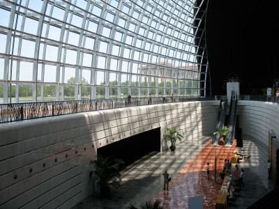 Inside the National Centre for the Performing Arts (the Egg), Beijing, 2008