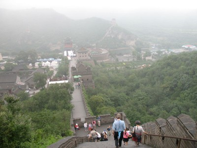 Great Wall Going Down, JuYongguan, 2008