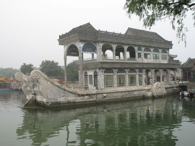 Marble Boat at Summer Palace, Beijing, 2008