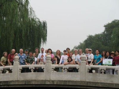 Stanford Bus 8 at the Summer Palace, Beijing, 2008