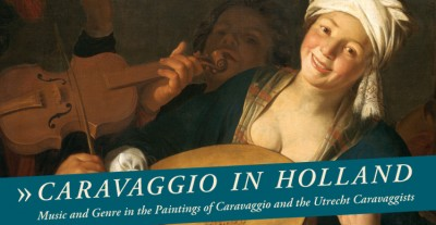 Carvaggio in Holland poster