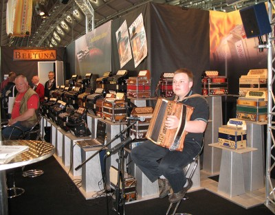 Beltuna booth at Musikmesse 2009