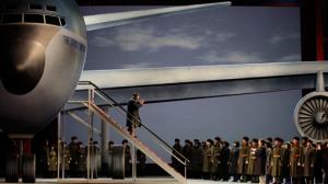 Nixon Arrives in China