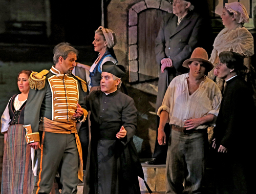 Photo of Krassen Karagiozov and Michael Good in L'elisir d'amore