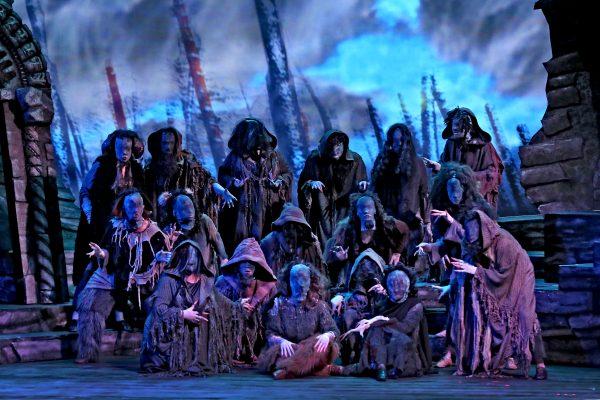 West Bay Opera Witches' Chorus, Macbeth Act I.